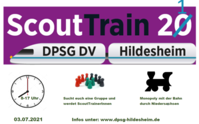 ScoutTrain 2021 - Anmeldung
