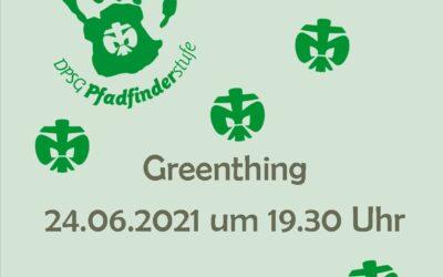 Greenthing - Treffen der Pfadileiter*innen
